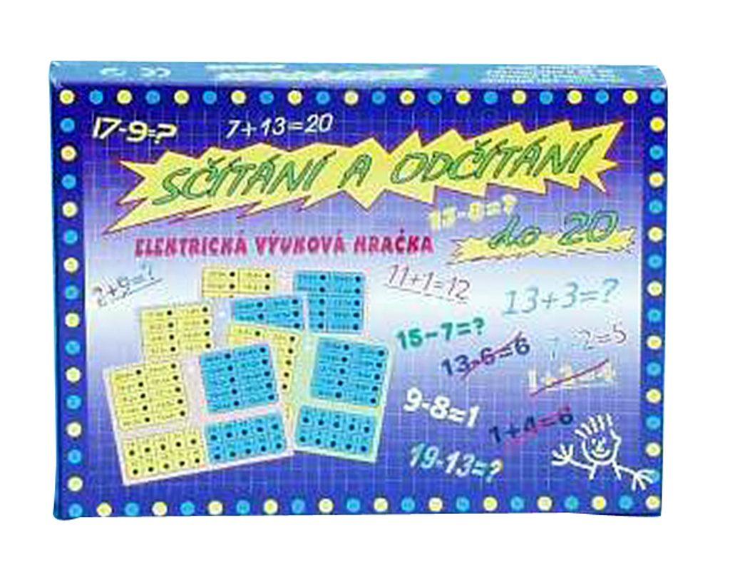 Elektrická výuková hračka - Sčítání a odčítání, Svoboda, W200004