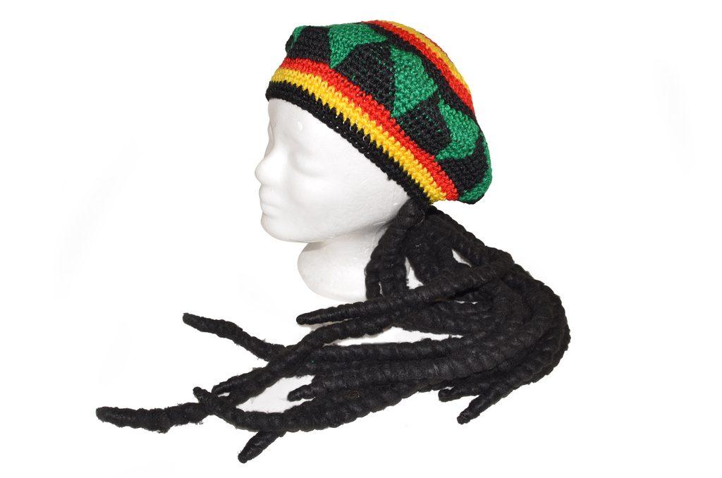 Čepice pletená jamajská, Wiky, W880316