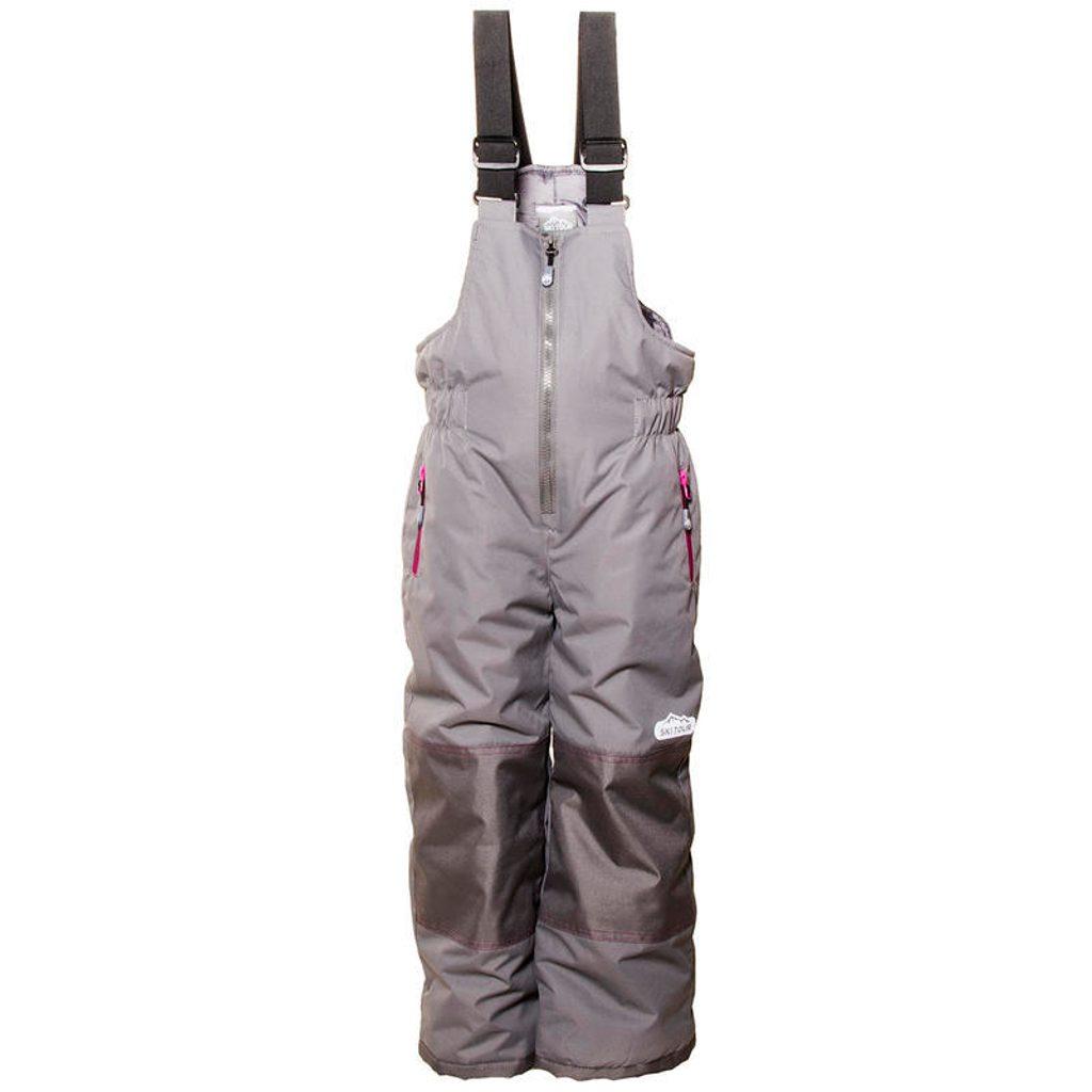 kalhoty lyžařské zimní dívčí, Pidilidi, PD1051-09, šedá - 116