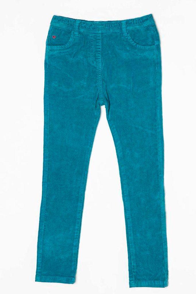 Kalhoty dívčí, Minoti, MAGIC 11, modrá - 104/110