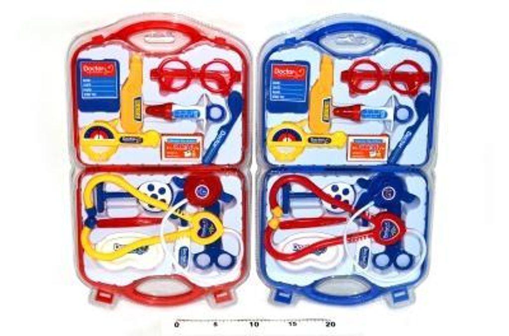 Doktorský kufřík set /2 druhy, WIKY, 116715