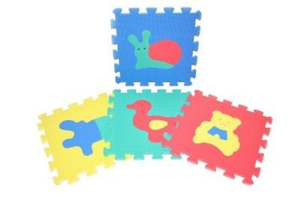 Měkké puzzle bloky zvířata, WIKY, 118621