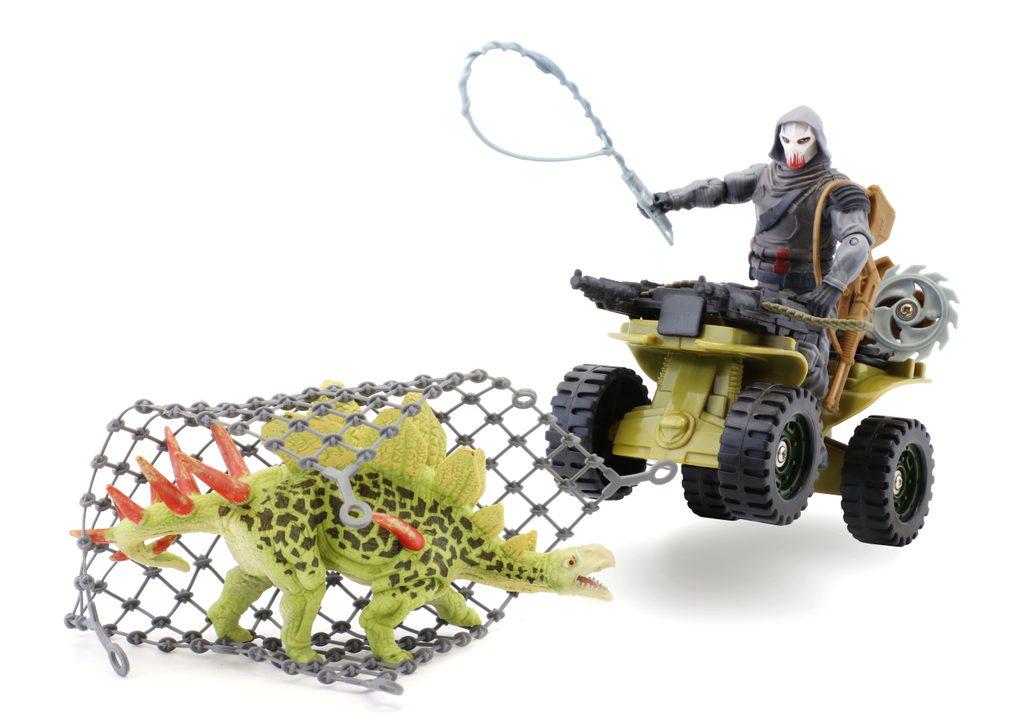 Voják s dinosaurem set, Jurassic Clash, W282341