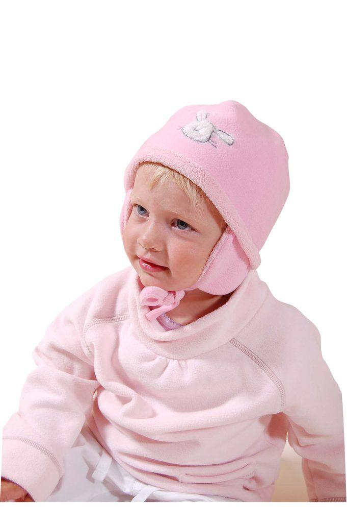 čepice, rukavice, šála, Bugga, PD616, růžová - 86
