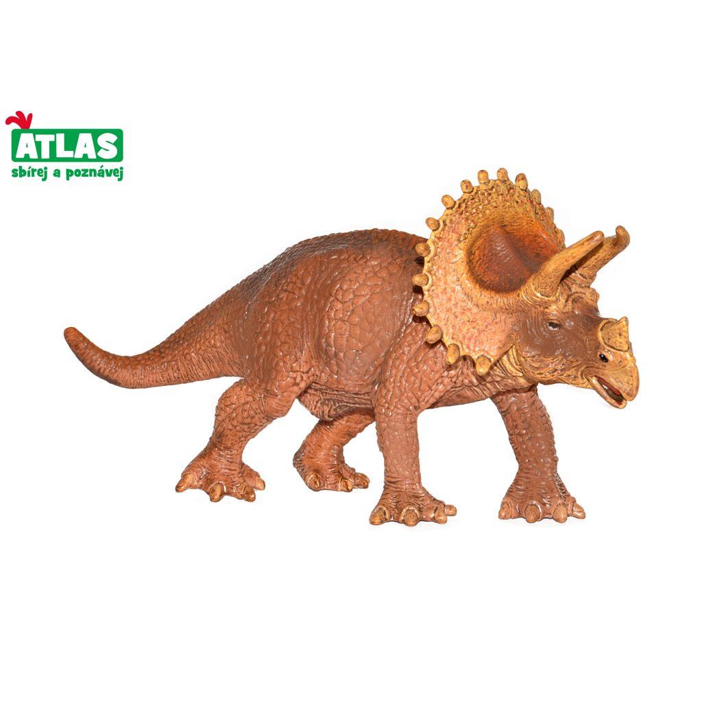 F - Figurka Dino Triceratops 19cm, Atlas, W101827