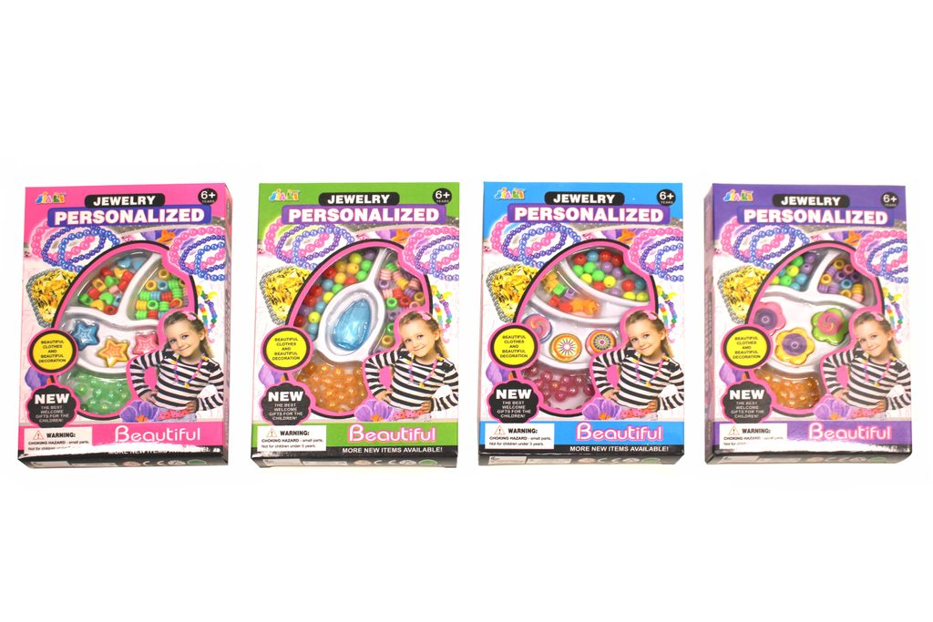 Korálky pro holčičky, set, Wiky kreativita, W001868