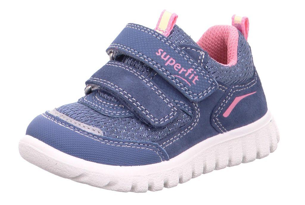dětské celoroční boty SPORT7 MINI, Superfit, 1-006194-8020, modrá - 25