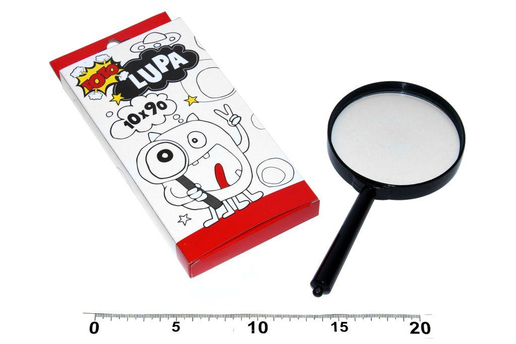 Lupa 10x90 mm, TOTO, W833503