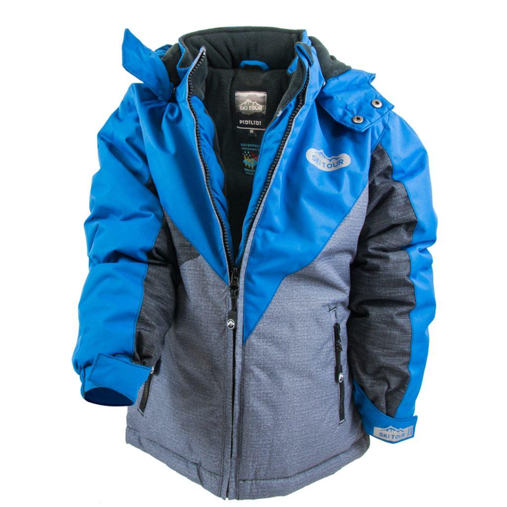bunda zimní chlapecká, Pidilidi, PD1052-04, modrá - 158/164