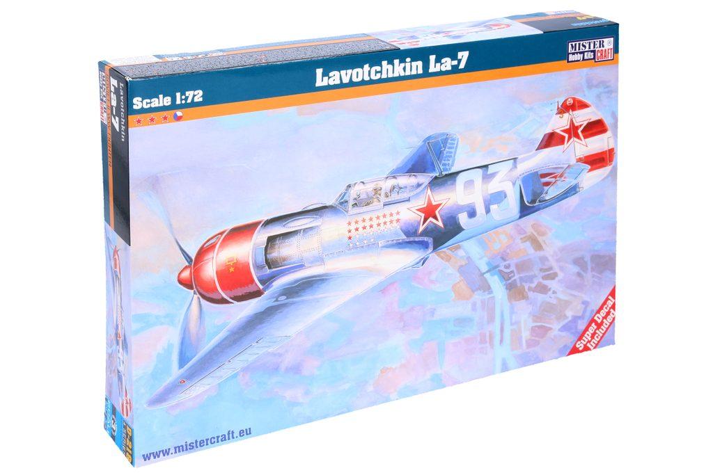Model Lavotchkin LA-7 1:72, Mister Craft, W105053
