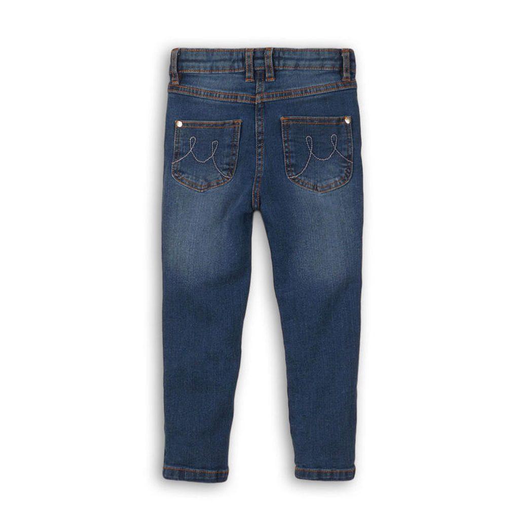 Kalhoty dívčí džínové s elastenem, Minoti, MERGE 10, holka - 146/152