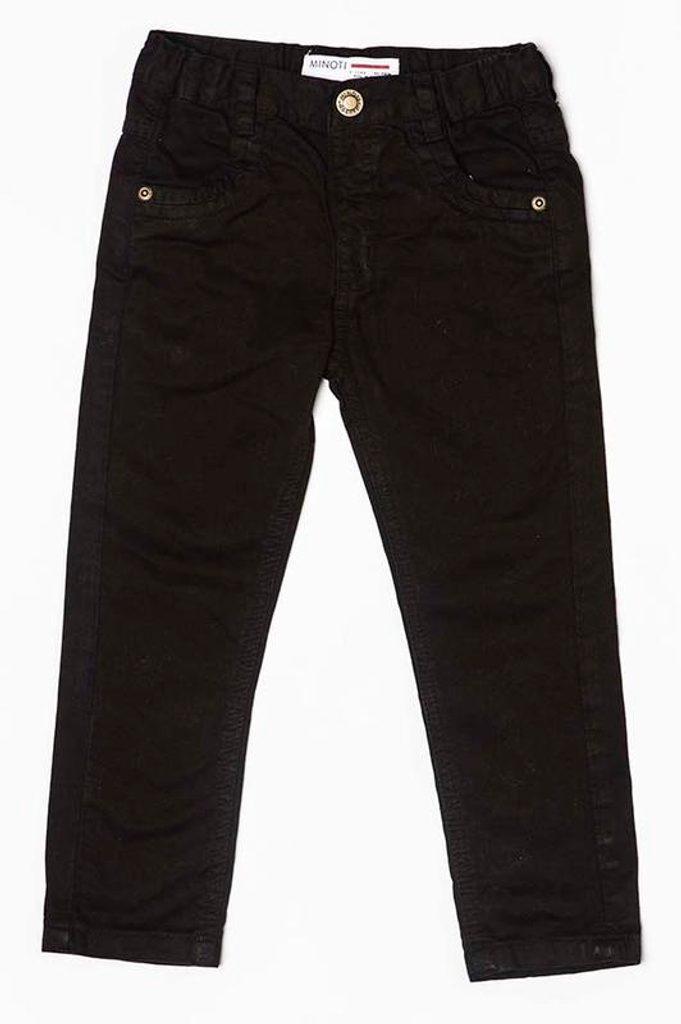 Kalhoty chlapecké, Minoti, TUNES 5, černá - 104/110