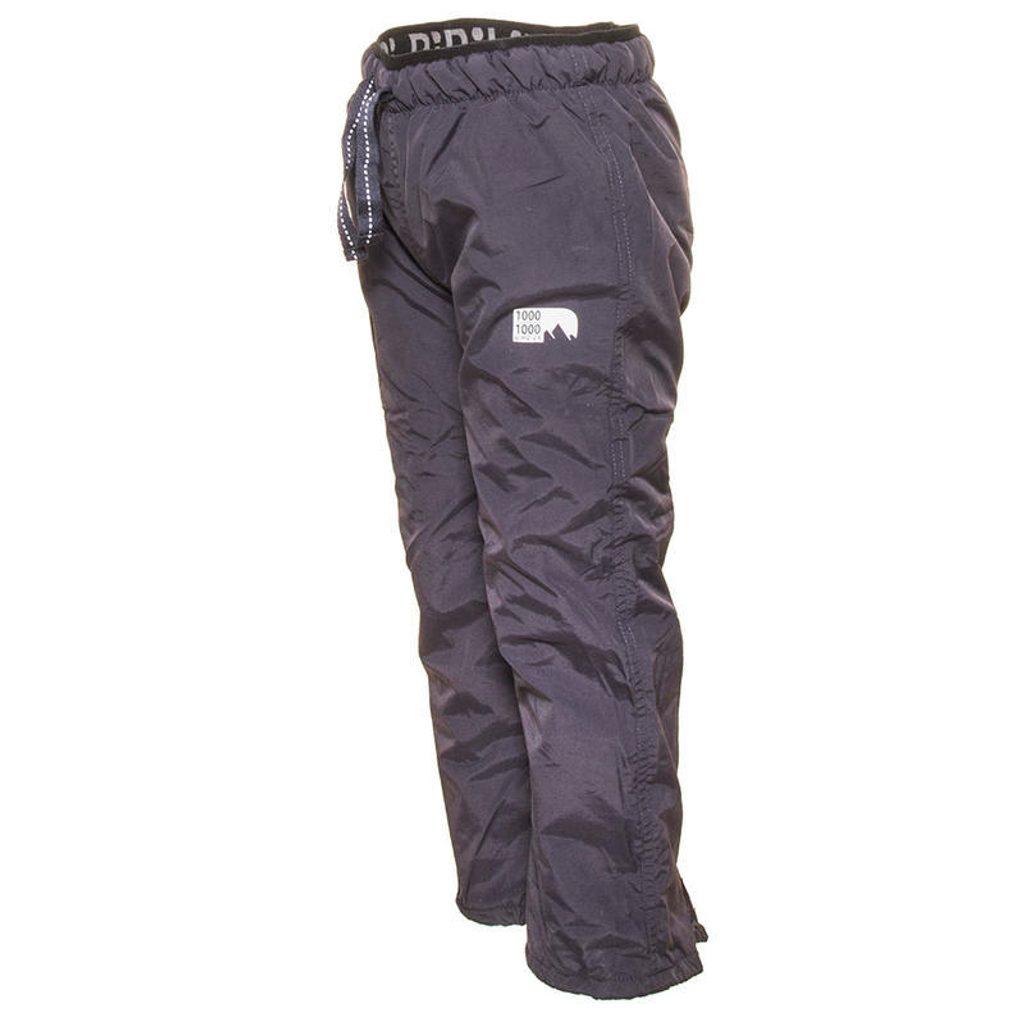 kalhoty sportovní s fleezem outdoorové, Pidilidi, PD1060-09, šedá - 86