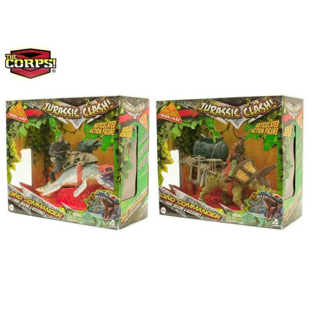Dinosaurus set Corps 25 cm, WIKY, 282332