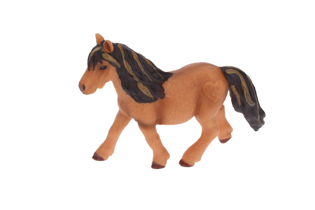 B - Figurka Kůň 9 cm, Atlas, W101910