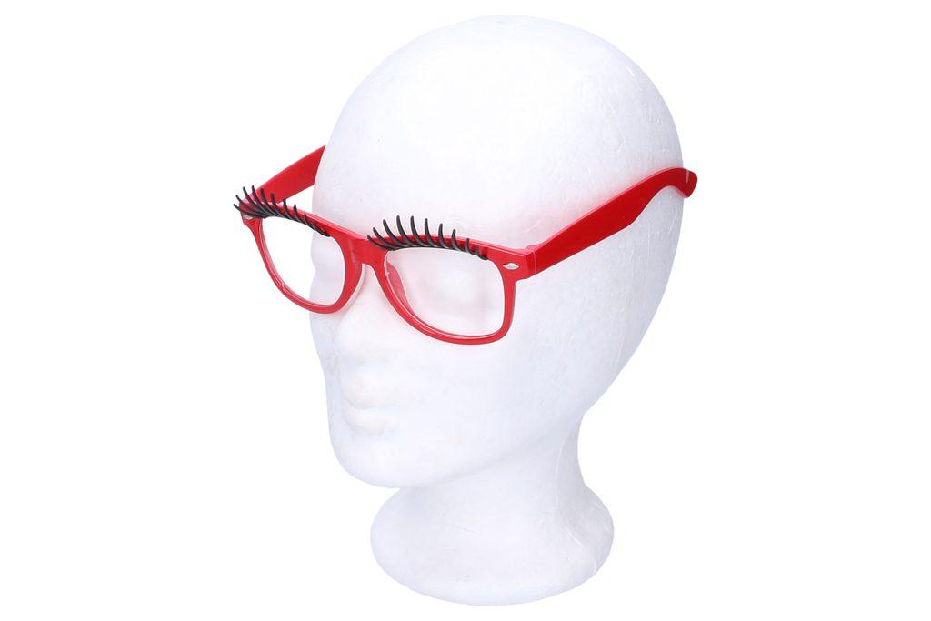 Brýle na karneval s řasami, Wiky, W880390