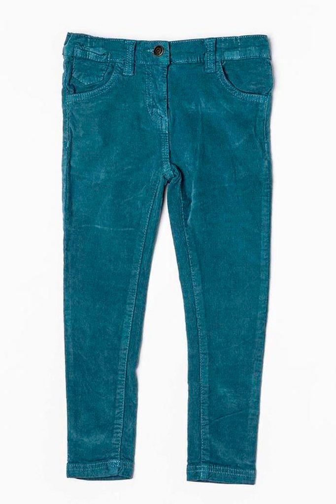 Kalhoty dívčí, Minoti, GOLD 11, tyrkysová - 152/158