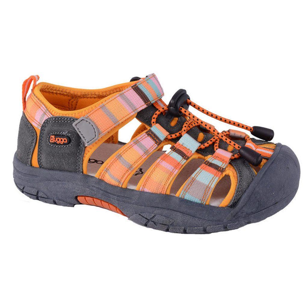 sandále dětské 25, Bugga, B093, oranžová - 40