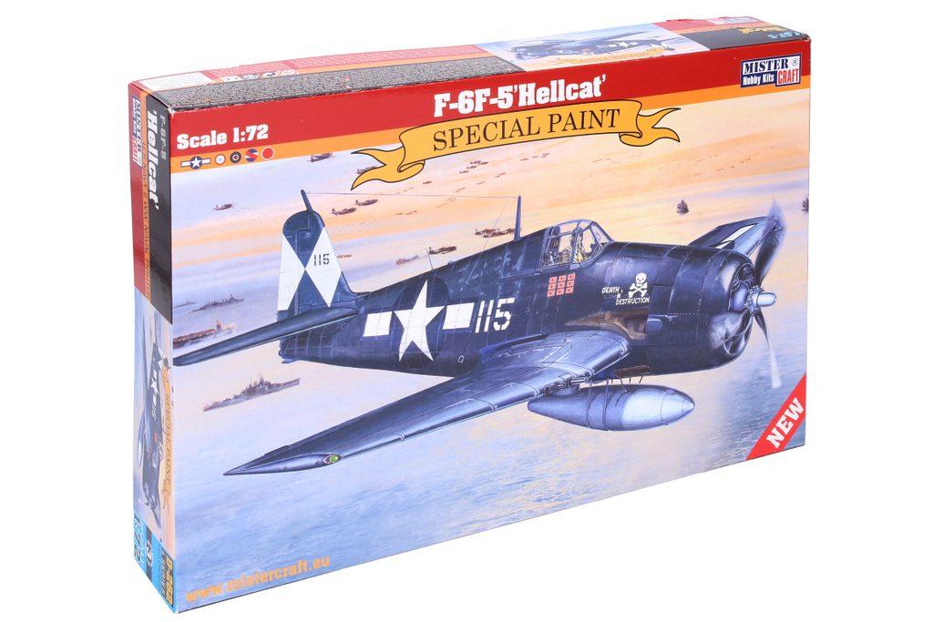 Model F-6F-5 Hellcat 1:72, Mister Craft, W105054