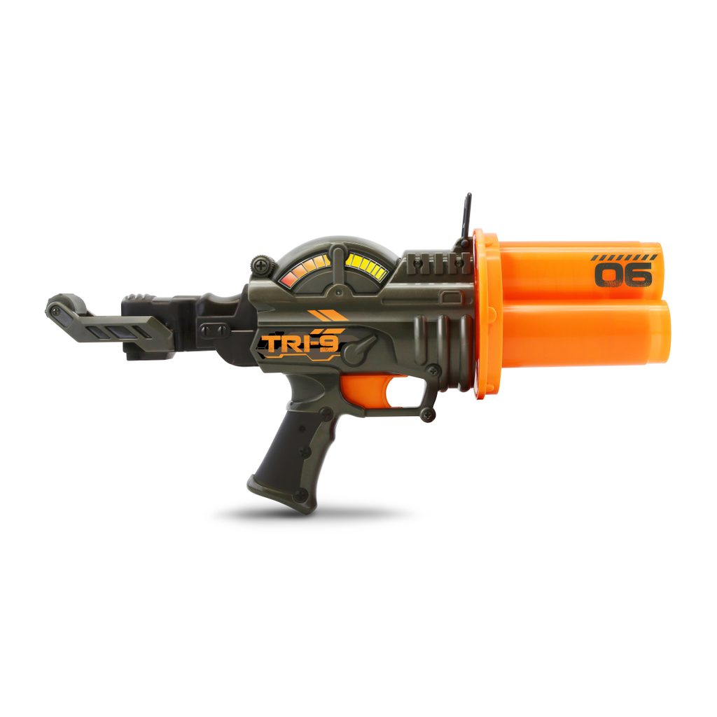 Pistole s 9 kuličkami 35 cm, Wiky, W001317