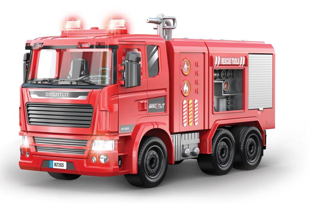 Auto hasičské - skládací model 36 cm, Wiky Vehicles, W008879