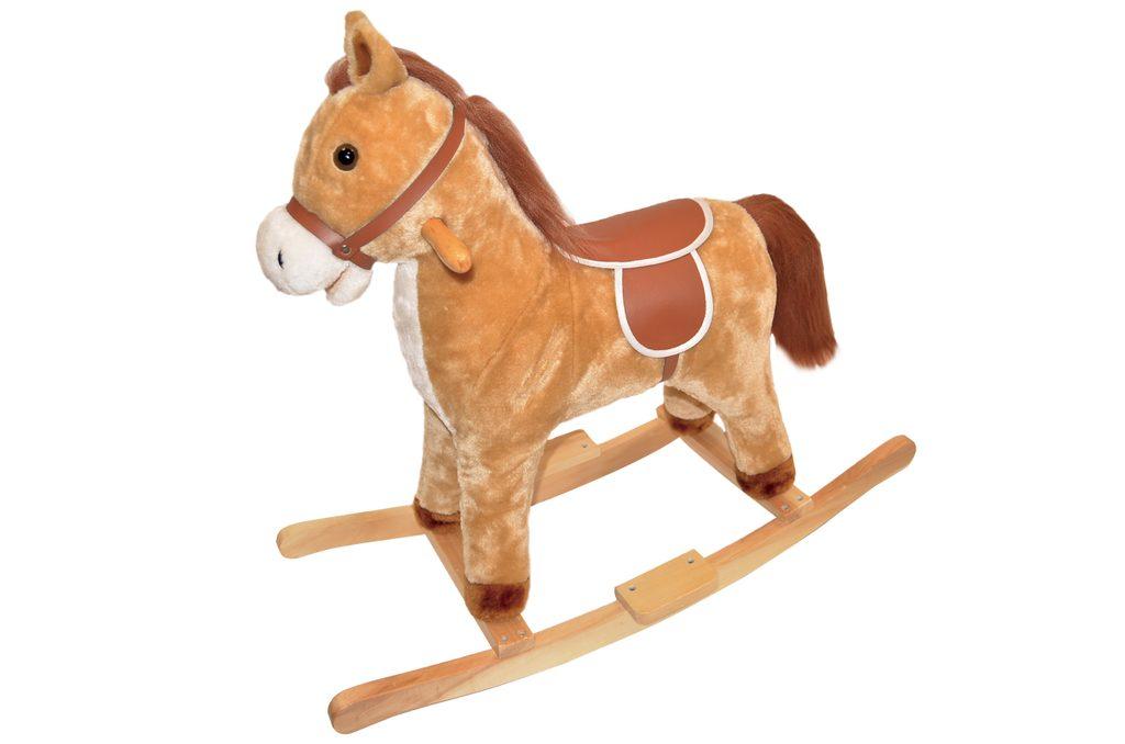 Kůň houpací 74x28x65 cm, Wiky, W116799