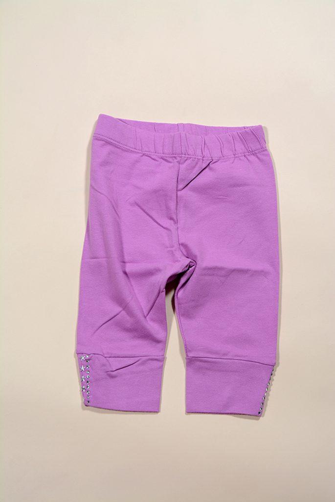 kalhoty dívčí 3/4, Wendee, DY64133-1, růžová - 104