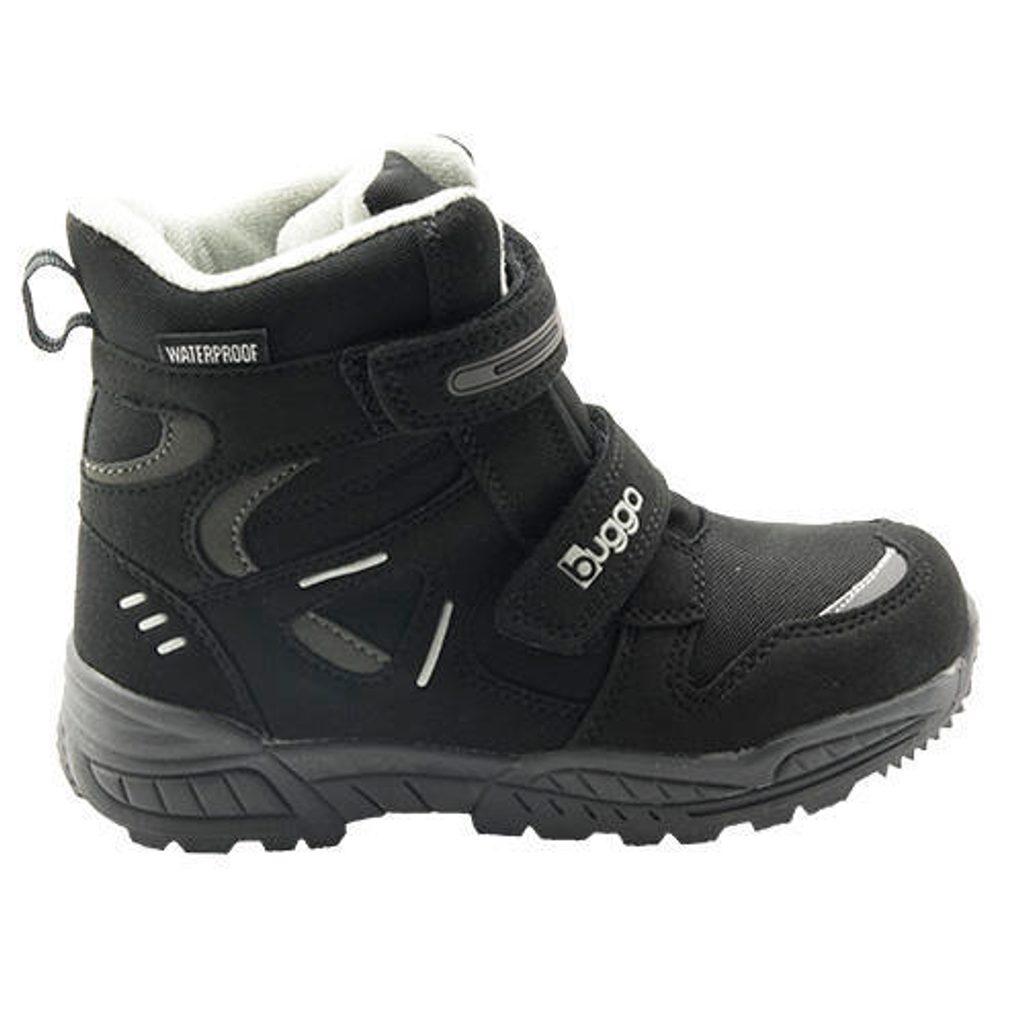 dětské zimní boty, Bugga, B00151-10, černá - 38