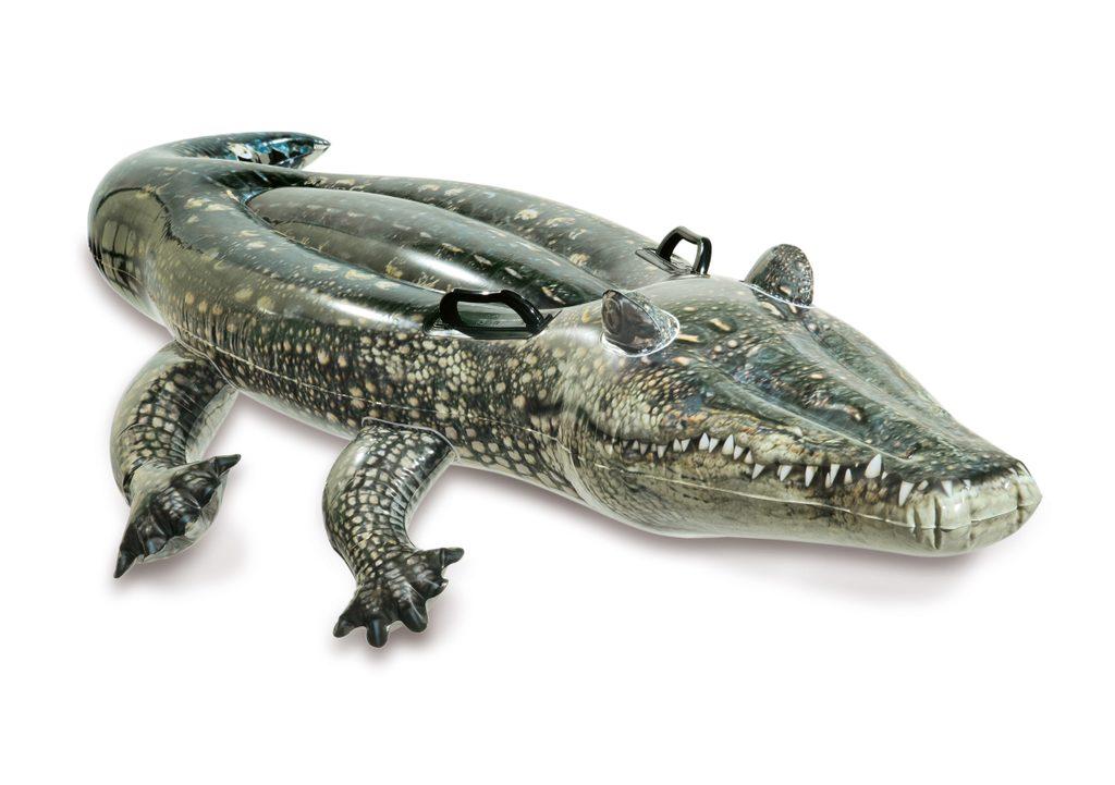 Nafukovací krokodýl 170x86 cm, INTEX, W157551