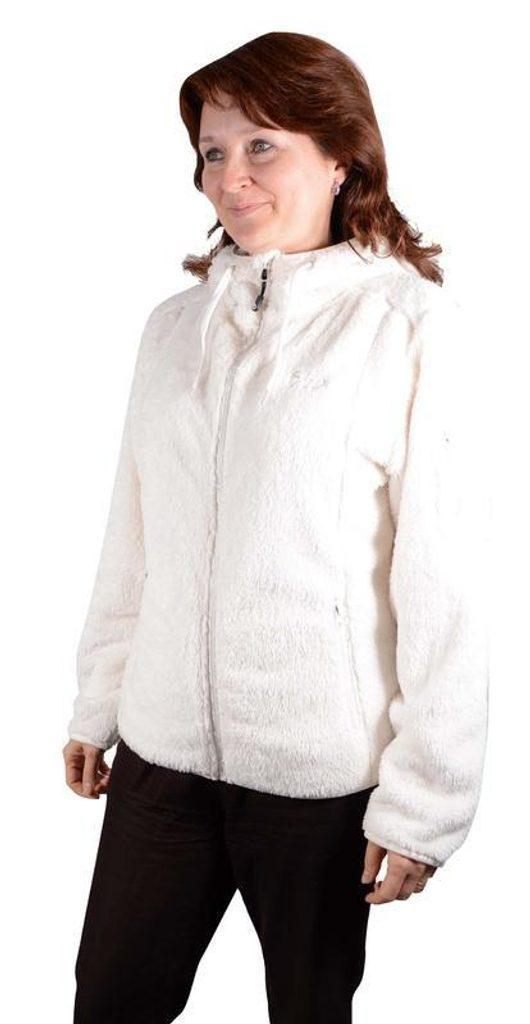 mikina dámská s kapucí, Bugga, PD930, béžová - XL