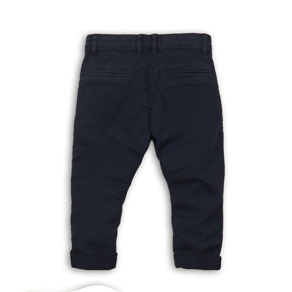 Kalhoty chlapecké Chino, Minoti, REAL 1, modrá - 122/128