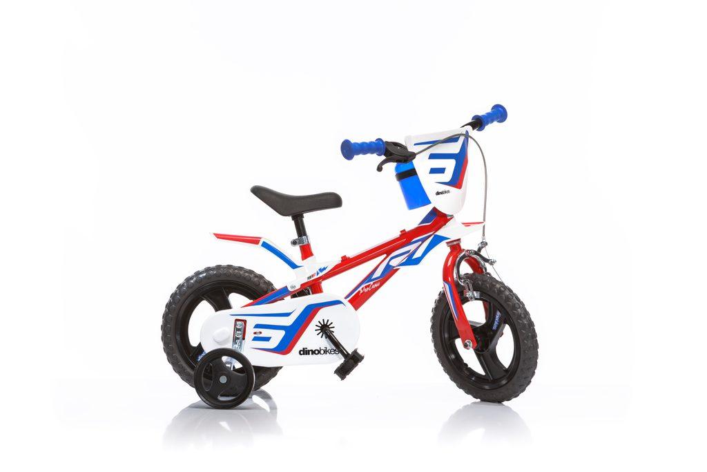 Dětské kolo červené, Dino Bikes, W012678