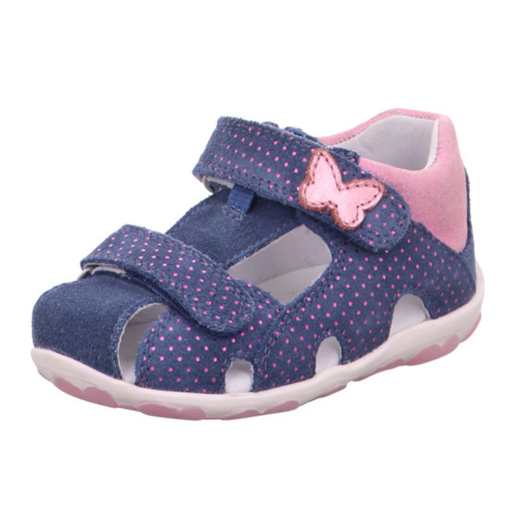 dívčí sandály FANNI, Superfit, 1-609041-8010, modrá - 24