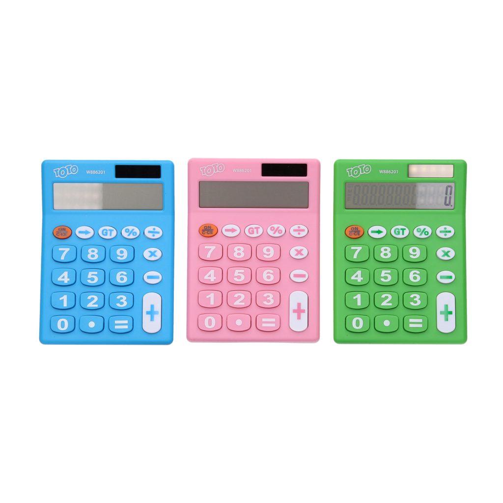 Kalkulačka barevná střední, Wiky, W886201
