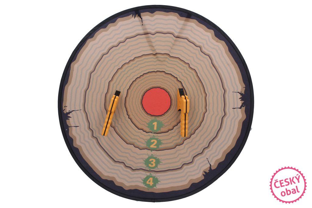 Házecí sekery malé, terč 45 cm, Wiky, W007672
