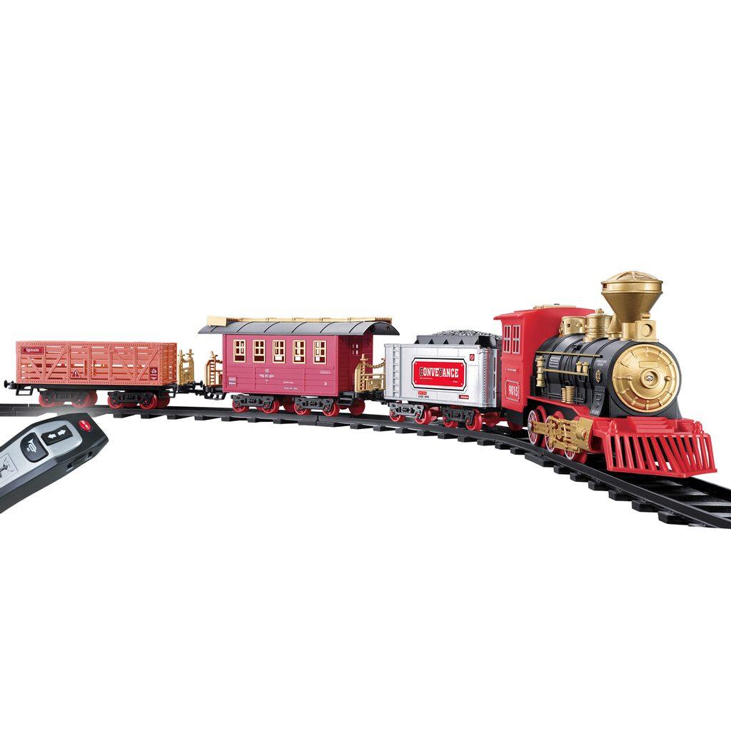 Vlak set 148x86 cm RC s efekty, Wiky RC, W001618