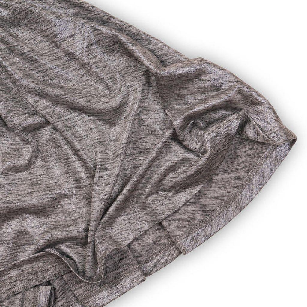 Šaty dívčí, Minoti, SHIMMER 4, šedá - 104/110