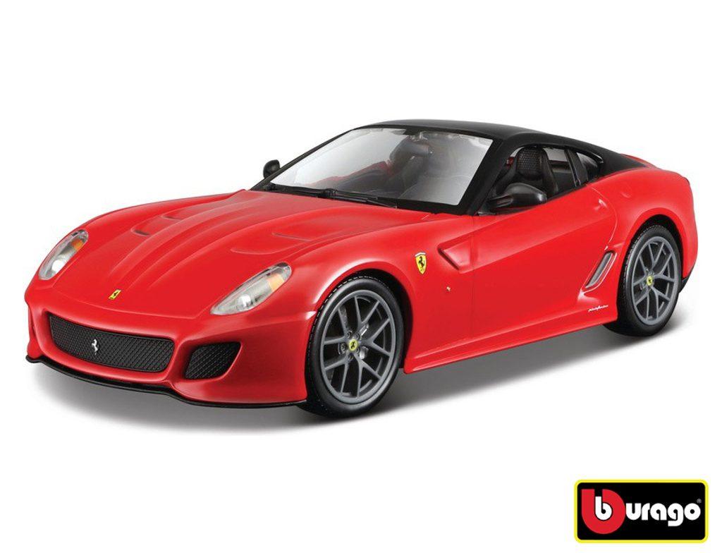 Bburago 1:24 Ferrari 599 GTO Red, Bburago, W007283
