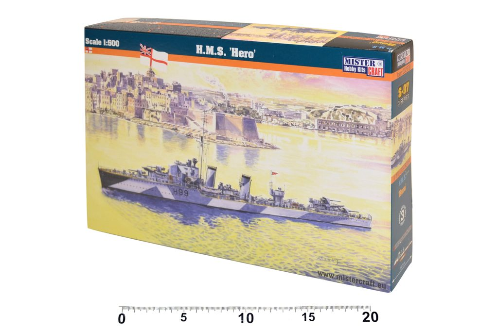Model HMS Hero série Lodě, Mister Craft, W105043
