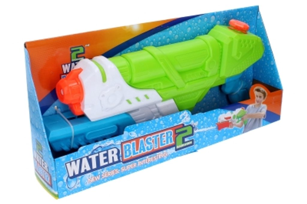 Velká pumpovací vodní pistole 46 cm, WIKY, 118284