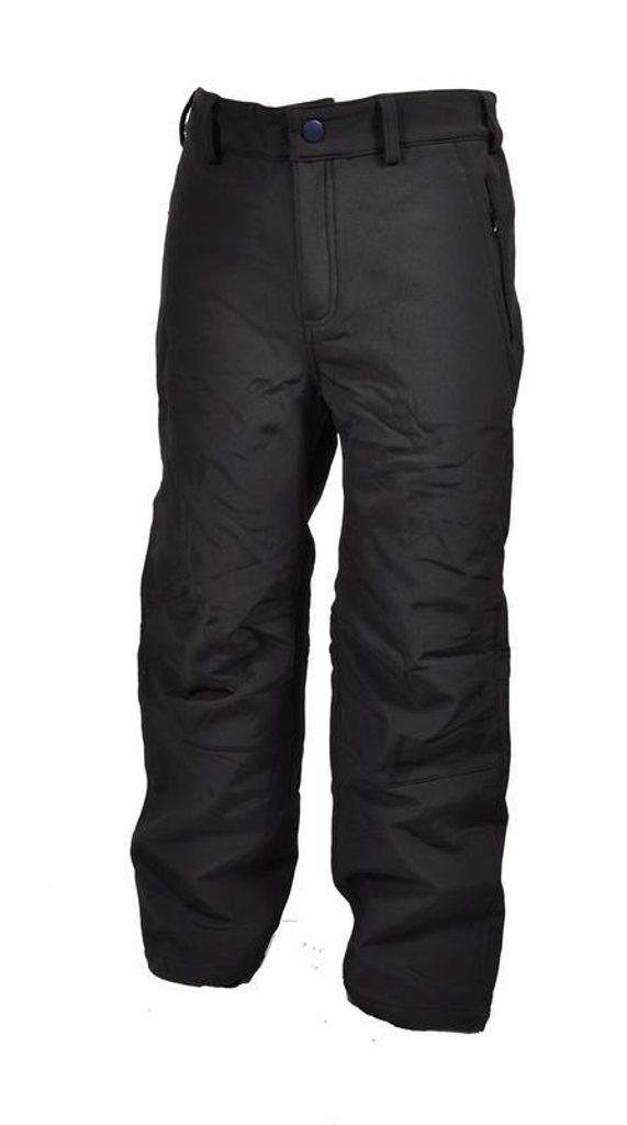 kalhoty softshellové, Bugga, PD918, černá - 122