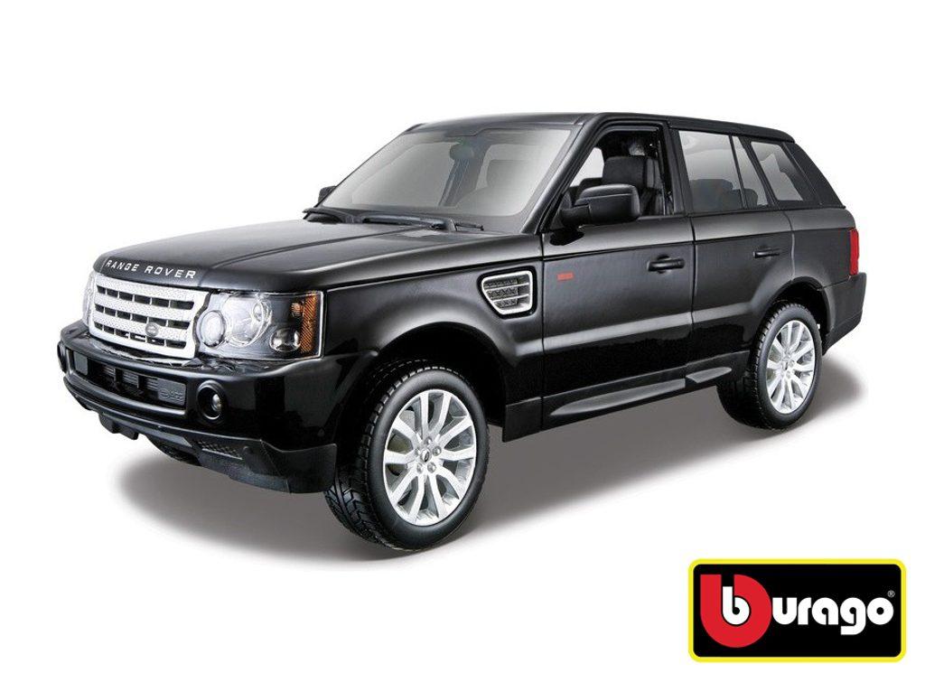 Bburago 1:18 Range Rover Sport Black, Bburago, W007258