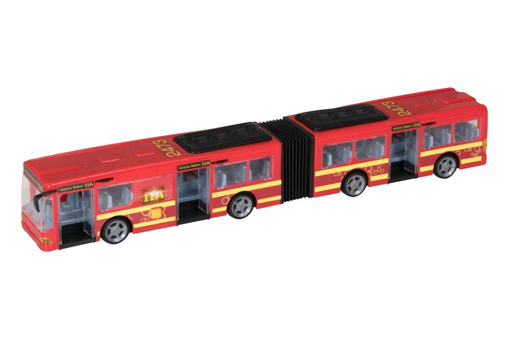 Autobus kloubový s efekty 47 cm, Teamsterz, W008181
