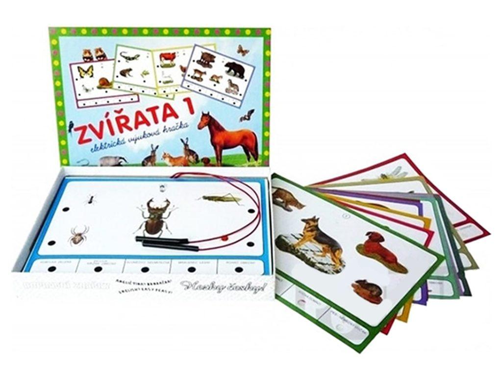 Elektrická výuková hračka - Zvířata 1, Svoboda, W200035