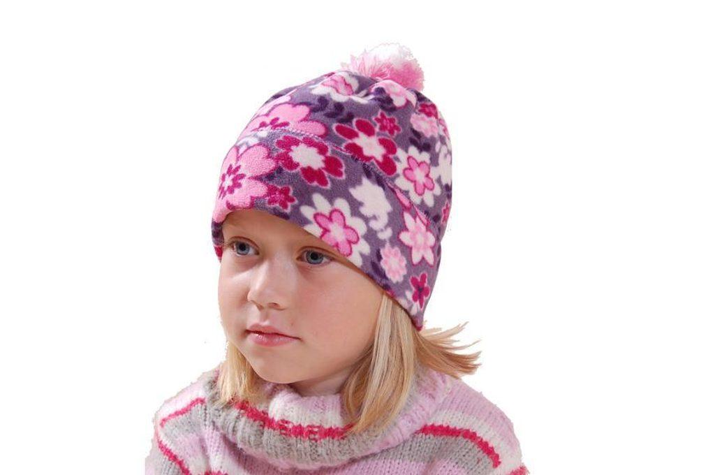 čepice fleezová dívčí, Bugga, PD620, holka - 92