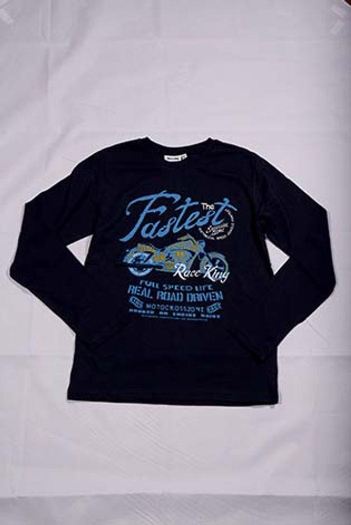 triko, OZ101587-1, modrá - 104