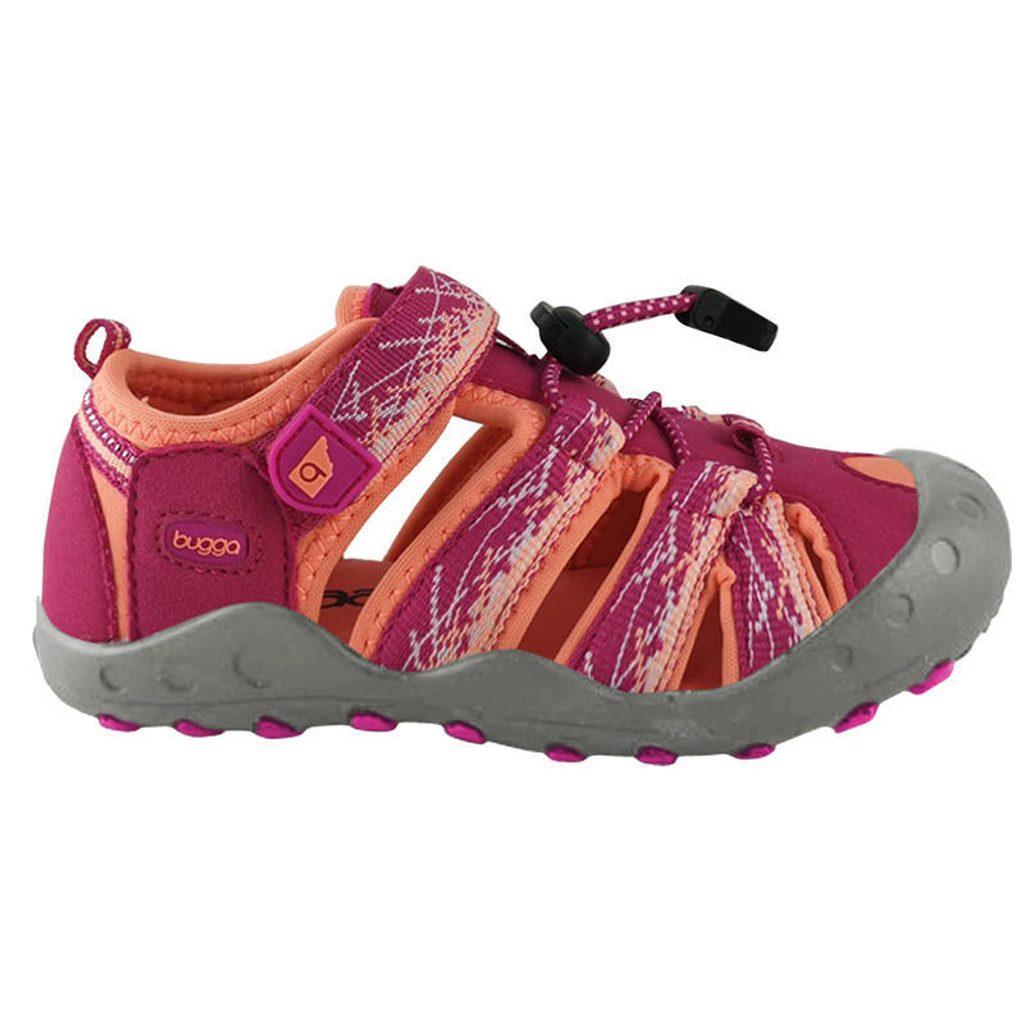 sandály sportovní OUTDOOR, Bugga, B00156-03, růžová - 28