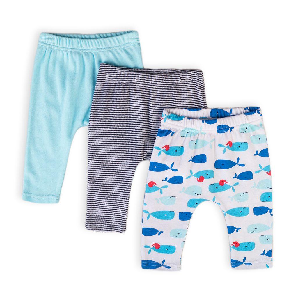 Kalhoty kojenecké 3pack, Minoti, Ship 11, kluk - 74/80