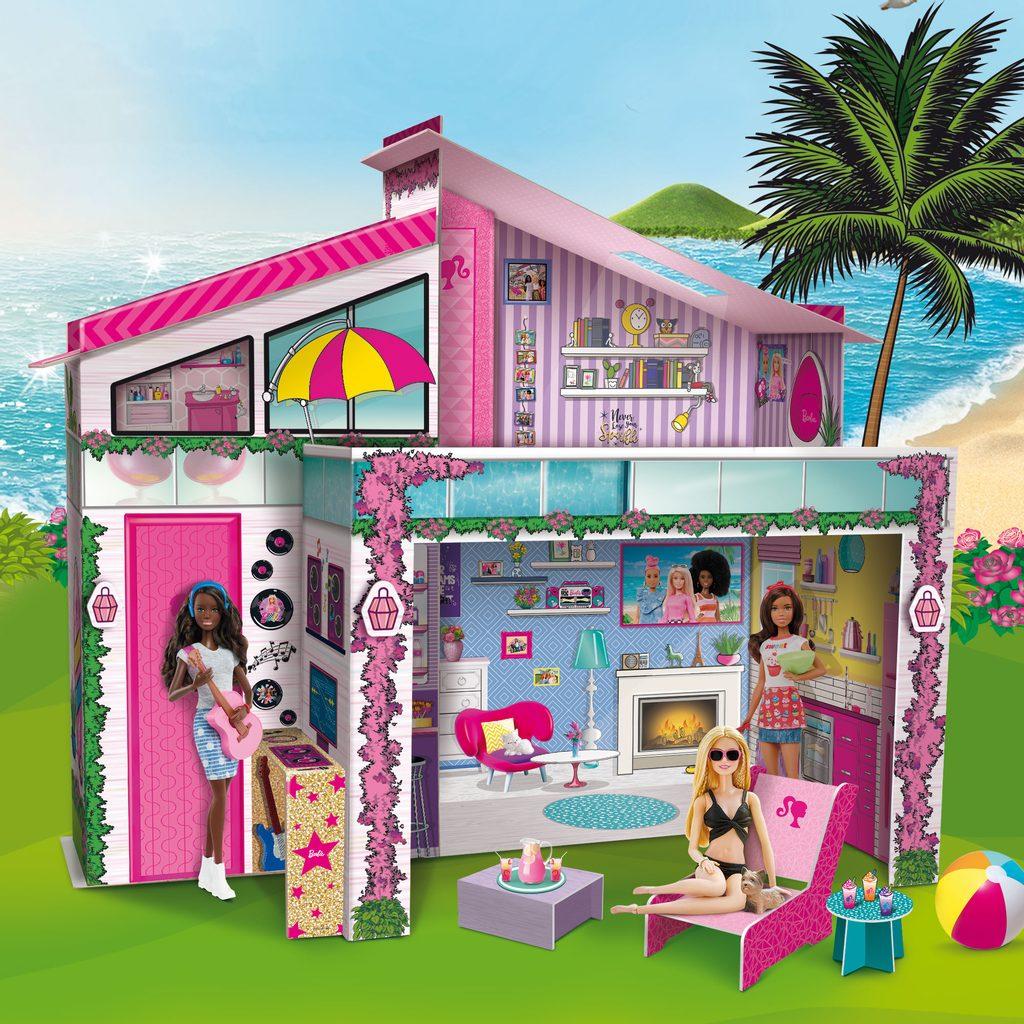 Lisciani domeček s panenkou Barbie, Lisciani, W009365