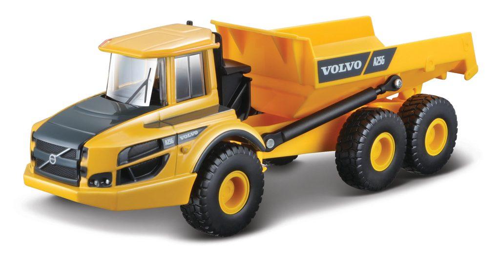 Bburago 1:50 Volvo A25G Dumper - 32085, Bburago, W007372